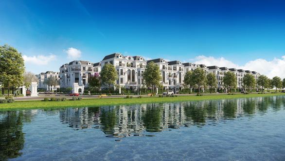 Xuất hiện Elegant Park Villa phong cách Pháp ở Long Biên - Ảnh 1.