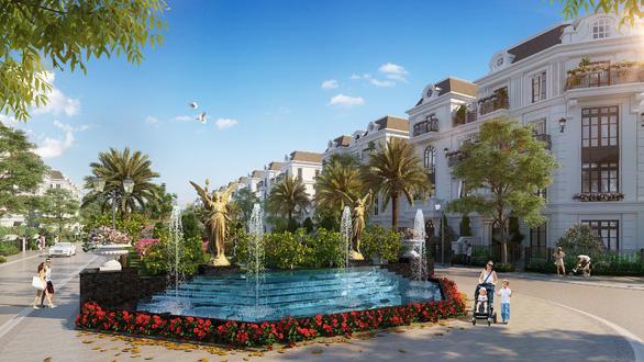 Xuất hiện Elegant Park Villa phong cách Pháp ở Long Biên - Ảnh 2.