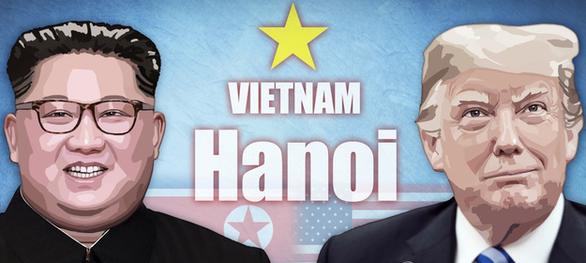 Ông Trump và ông Kim sẽ ăn tối chung trong ngày đầu ở Hà Nội? - Ảnh 1.