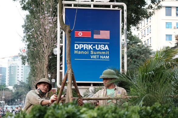 Hà Nội trước giờ G của Hội nghị Thượng đỉnh Mỹ - Triều - Ảnh 2.