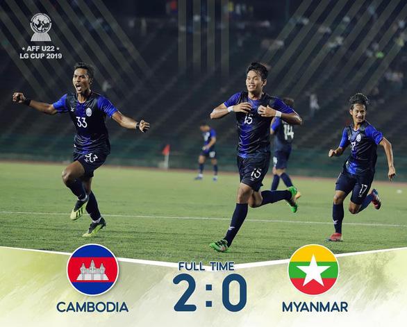 CĐV Myanmar chỉ trích trọng tài sau trận thua U-22 Campuchia - Ảnh 2.
