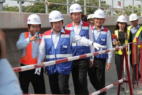 Chủ tịch UBND TP.HCM: Metro số 1 sẽ vận hành đúng tiến độ - Ảnh 2.