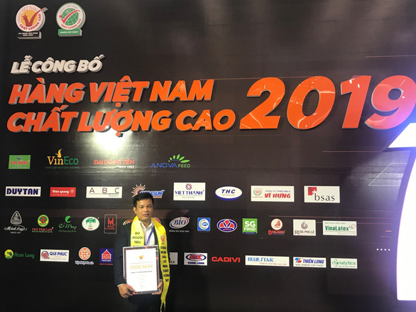 Wincofood nhận danh hiệu Hàng Việt Nam Chất Lượng Cao 2019 - Ảnh 1.
