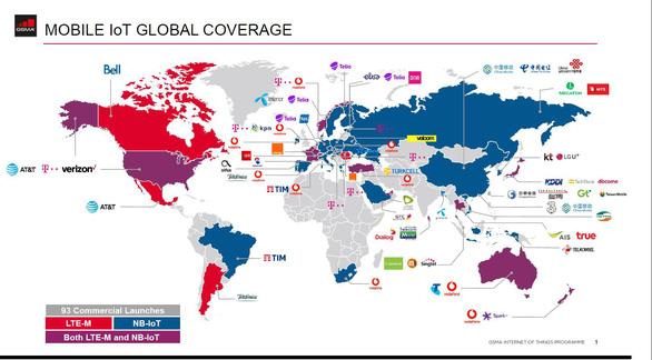 Viettel vào danh sách 50 nhà mạng triển khai thành công NB-IoT - Ảnh 1.