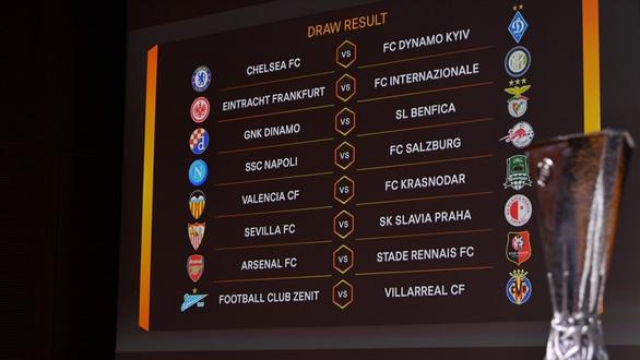 Chelsea và Arsenal gặp đối thủ dễ thở ở vòng 16 đội Europa League - Ảnh 1.