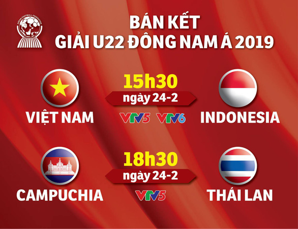 Chiều nay U22 Việt Nam đấu Indonesia - Ảnh 1.