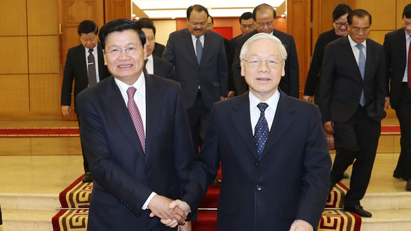 Quan hệ hữu nghị vĩ đại Việt - Lào - Ảnh 1.