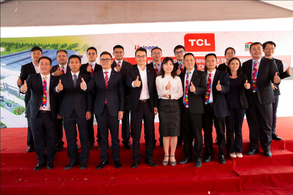 TCL khởi công nhà máy sản xuất TV mới tại Bình Dương - Ảnh 2.