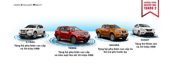 Nissan Việt Nam lì xì đầu năm cho khách mua xe - Ảnh 1.