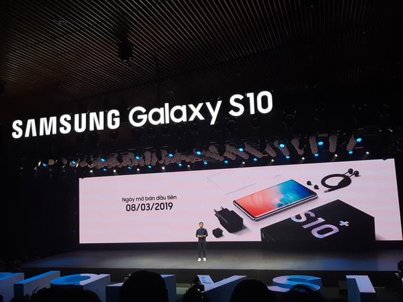 Chính thức ra mắt Galaxy S10 tại Việt Nam - Ảnh 1.