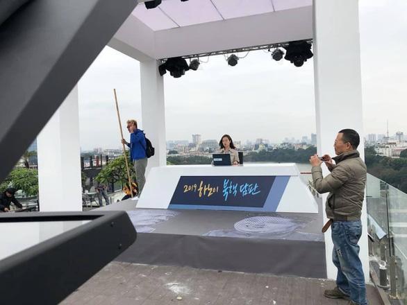 Cách làm báo như phim của truyền hình Hàn ở thượng đỉnh Mỹ - Triều là có thật - Ảnh 3.