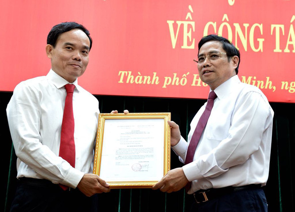 Ông Trần Lưu Quang làm phó bí thư thường trực Thành ủy TP.HCM - Ảnh 1.