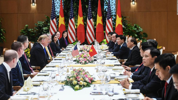 Thủ tướng Nguyễn Xuân Phúc thết Tổng thống Trump món chả giò tôm thịt - Ảnh 1.