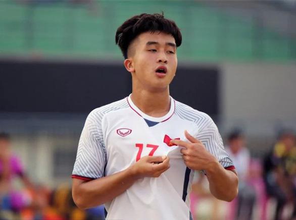 Danh Trung được chọn vào tốp 5 cầu thủ hay nhất Giải U22 Đông Nam Á 2019 - Ảnh 1.