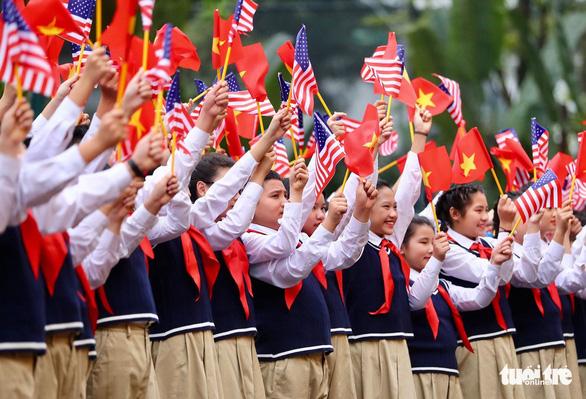 Tổng bí thư, Chủ tịch nước Nguyễn Phú Trọng tiếp Tổng thống Trump - Ảnh 12.
