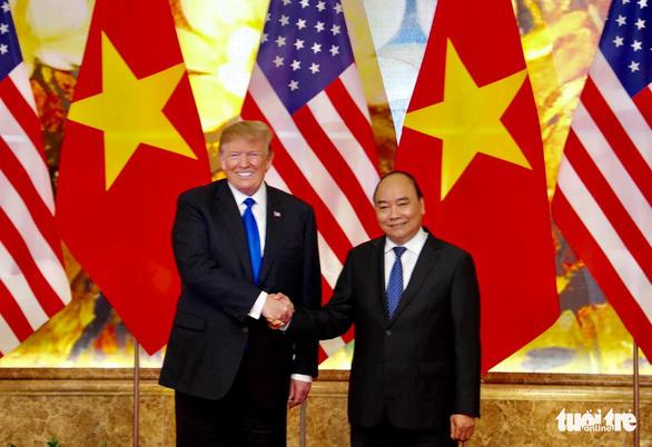 Thủ tướng Nguyễn Xuân Phúc hội kiến Tổng thống Trump - Ảnh 10.
