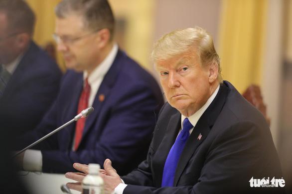 Tổng bí thư, Chủ tịch nước Nguyễn Phú Trọng tiếp Tổng thống Trump - Ảnh 7.