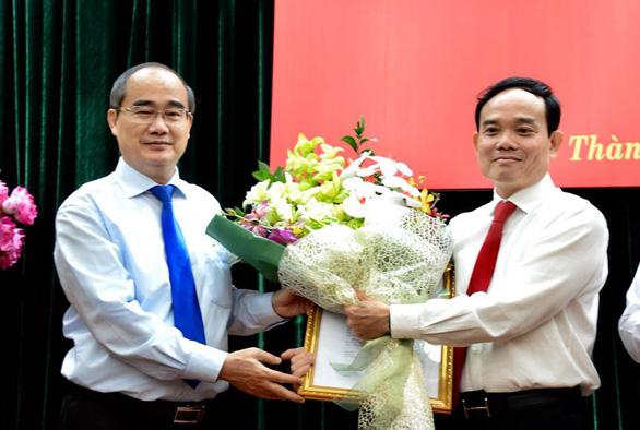 Ông Trần Lưu Quang làm phó bí thư thường trực Thành ủy TP.HCM - Ảnh 4.
