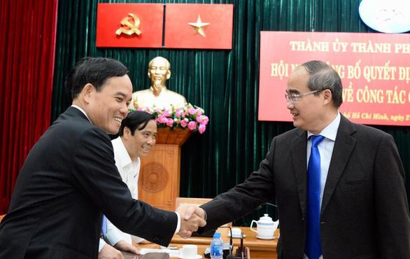 Ông Trần Lưu Quang làm phó bí thư thường trực Thành ủy TP.HCM - Ảnh 6.