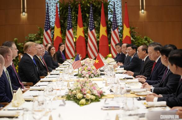 Thủ tướng Nguyễn Xuân Phúc hội kiến Tổng thống Trump - Ảnh 11.