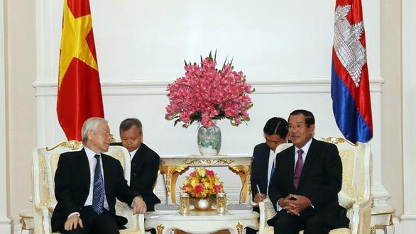 Việt Nam mở rộng giao thương, đầu tư sang Campuchia - Ảnh 1.