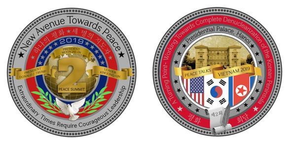 Đồng xu mừng thượng đỉnh Mỹ - Triều giá 100 USD được bán hết sạch - Ảnh 3.