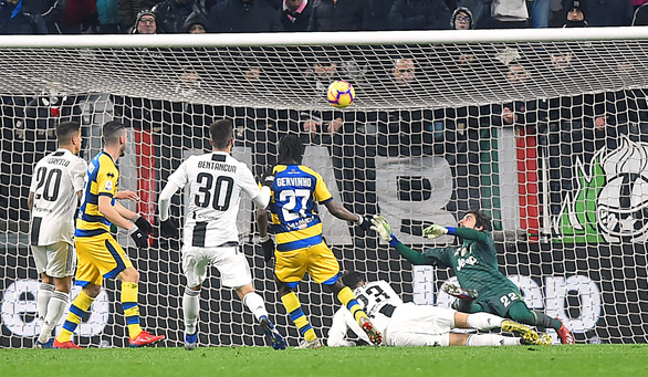 Ronaldo lập cú đúp, Juventus vẫn bị Parma cầm chân - Ảnh 1.