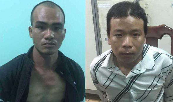 Bắt 2 nghi phạm khống chế nữ công nhân cướp xe máy giữa đêm khuya - Ảnh 1.