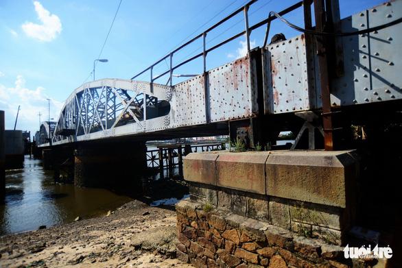 Sẽ tháo dỡ, thanh lý cầu xe lửa Bình Lợi 117 năm tuổi - Ảnh 4.
