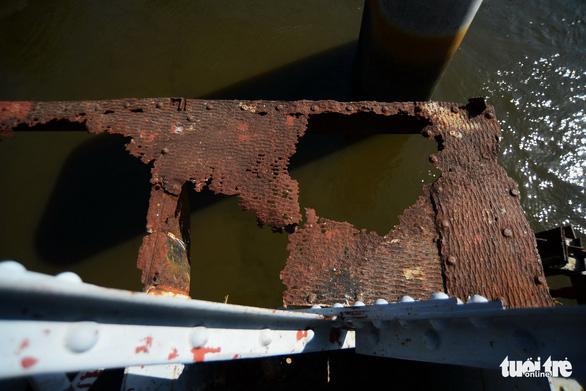 Sẽ tháo dỡ, thanh lý cầu xe lửa Bình Lợi 117 năm tuổi - Ảnh 5.