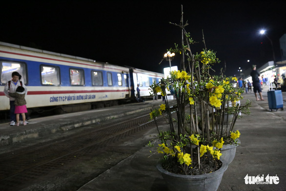 Mai vàng khoe sắc trên chuyến tàu cuối năm - Ảnh 4.