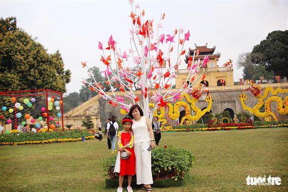 Lạ mắt với vườn chong chóng rực rỡ ở Hoàng Thành Thăng Long - Ảnh 6.