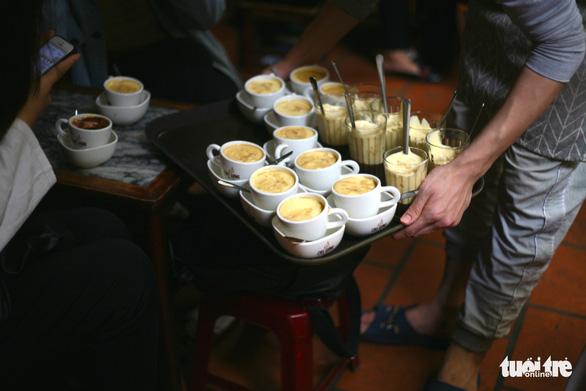 Cà phê Giảng sau thượng đỉnh Mỹ - Triều: 99,9% khách gọi cà phê trứng - Ảnh 3.