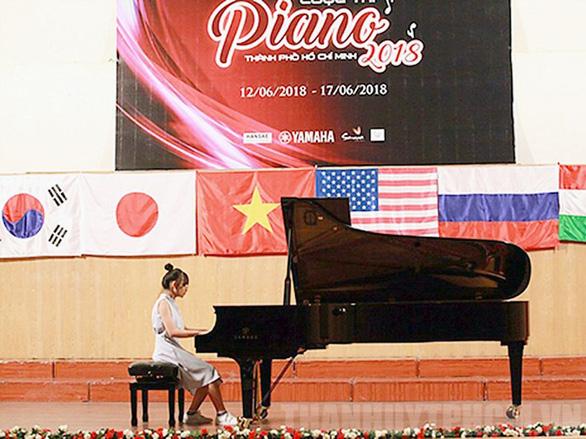 Cuộc thi piano TPHCM 2019 dành cho thí sinh thuộc mọi quốc tịch - Ảnh 1.