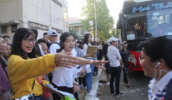 Học sinh miền Tây tựu về Ngày hội tư vấn tuyển sinh tại Cần Thơ - Ảnh 5.