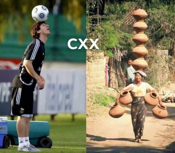 Dân mạng hào hứng với bức ảnh Messi chẳng là gì so với phụ nữ Myanmar - Ảnh 1.