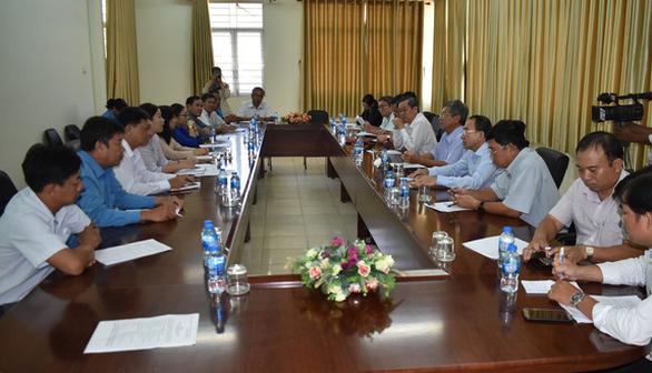 Yêu cầu Công ty may mặc Lu An thực hiện theo pháp luật Việt Nam - Ảnh 1.