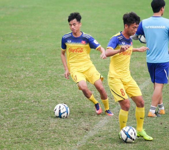 U-23 Việt Nam vắng HLV Park Hang Seo buổi tập chiều 11-3 - Ảnh 2.