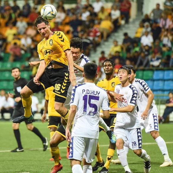Hà Nội FC bị cầm hòa trên đất Singapore - Ảnh 2.
