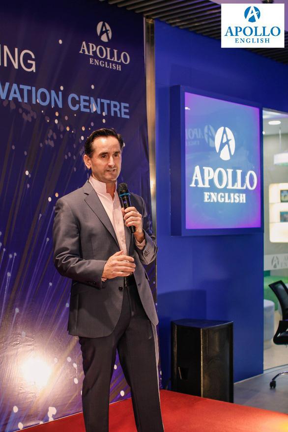 Ấn tượng lễ ra mắt trung tâm ứng dụng sáng tạo Apollo English - Ảnh 3.