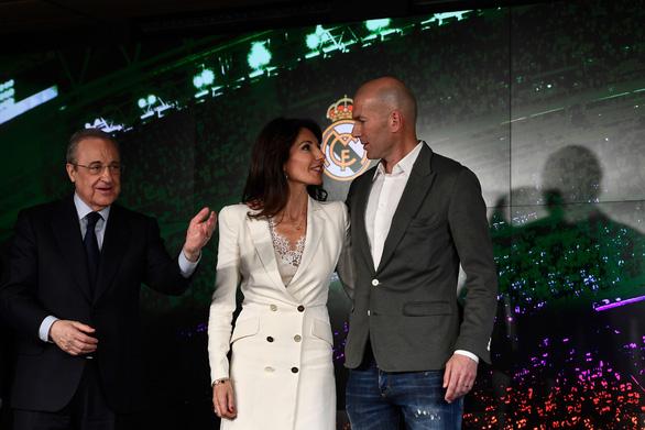 Zinedine Zidane trở lại dẫn dắt Real Madrid - Ảnh 1.