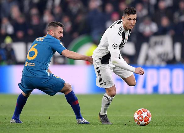 Ronaldo lập hat-trick, Juventus loại Atletico Madrid khỏi Champions League - Ảnh 3.