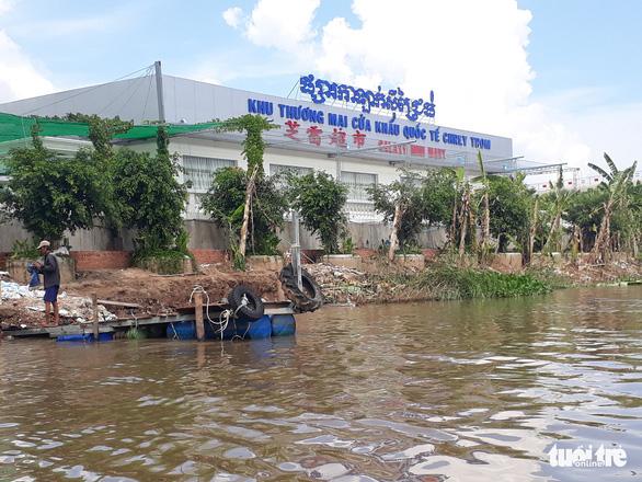 Cặp cửa khẩu Khánh Bình - Chrey Thom sẽ thành cửa khẩu quốc tế - Ảnh 1.