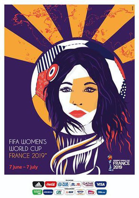 FIFA công bố poster chính thức của Giải vô địch bóng đá nữ thế giới 2019 - Ảnh 1.
