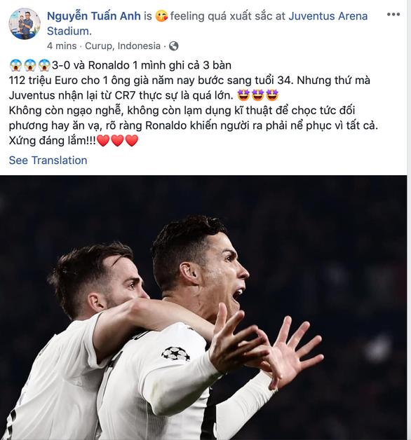 Mạng xã hội: Ronaldo có thể gánh mọi HLV trên vai và khiến họ trở nên vĩ đại - Ảnh 4.