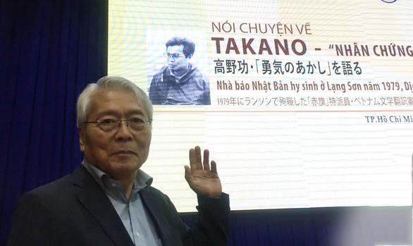 Kể câu chuyện hi sinh của nhà báo Nhật Tanako: Tôi tự hào viết ra sự thật - Ảnh 1.