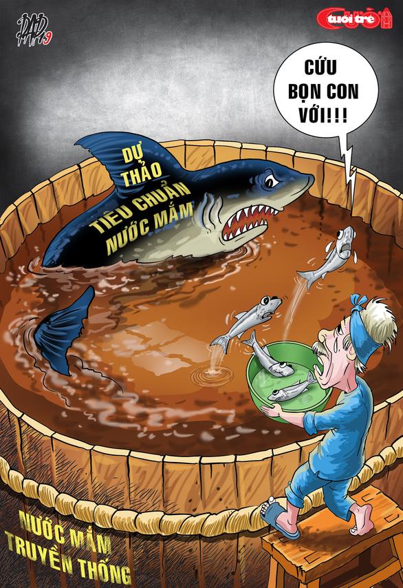 Biếm họa: cuộc chiến nước mắm - Ảnh 3.