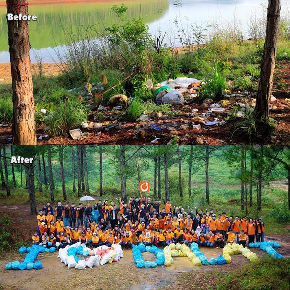 Bạn trẻ Việt đua trào lưu dọn rác khoe phây - Ảnh 5.