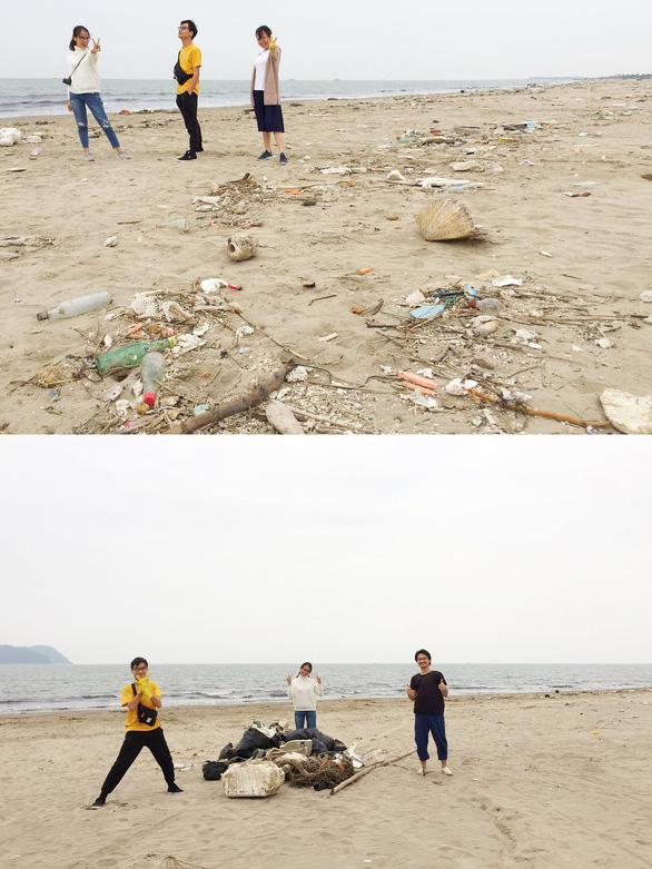 Bạn trẻ Việt đua trào lưu dọn rác khoe phây - Ảnh 3.
