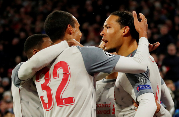 Quật ngã B.M tại Allianz Arena, Liverpool hiên ngang vào tứ kết Champions League - Ảnh 1.